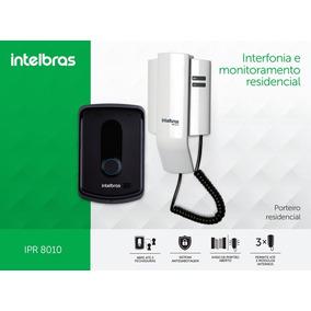 Orteiro Eletrônico Interfone Residencial Ipr 8010 Intelbras