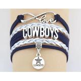Pulsera Nfl Vaqueros De Dallas Cowboys Envio Gratis