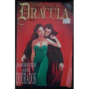 Revista A Vingança De Drácula Nº 1 Editora Sampa (1993) Rara