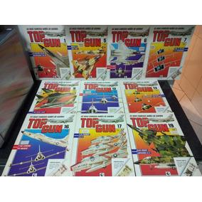 Lote 10 Revistas Top Gun C/ Poster Duplo - Globo Rjhm