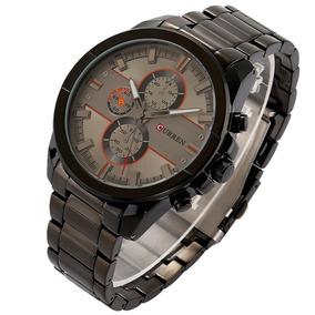 Reloj Moderno Rudo Hombre Análogo Curren 8274 Envío Gratis