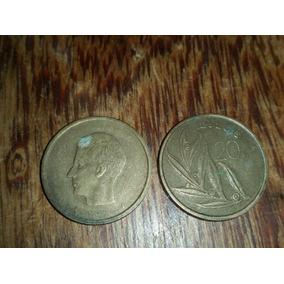 Moeda Rara Bélgica 20 Francos.