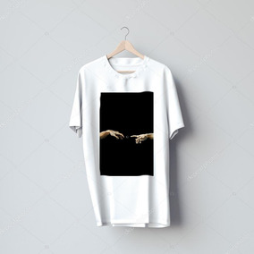 Camiseta A Criação De Adão Moletom - Calçados 6377498d1ea