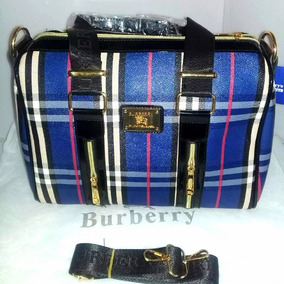 Bolsa Para Dama Burberry Morado/azul