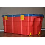 Baul Caja Organizadora 100 Lts. Plastico