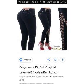 Calça Pitbull Jeans Original Veste 38/40 Maravilhosa Linda