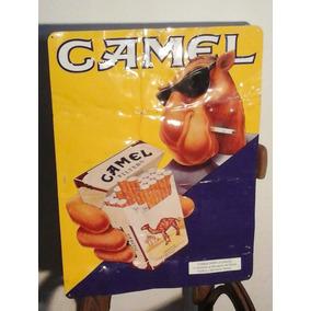 Hermoso Cartel De Camel Chapa De Aluminio Relieve Esmaltado