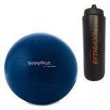 Kit Bola Pilates Gym Ball Stayball 65 Cm Proform + Squeeze