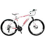 Frete Gratis Bicicleta Alfameq Stroll Freio Disco 24 Marchas