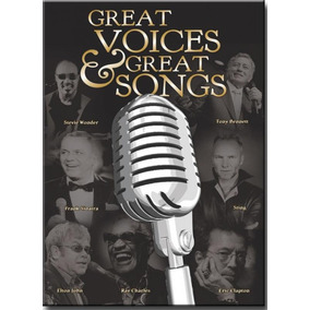 Dvd Great Voices & Great Songs - Diversos Internacionais