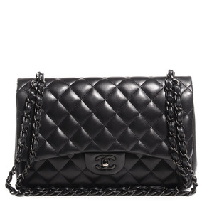 Bolsa Chanel Chevron Original 2.55 Total Black Fotos Reais