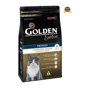 Ração Golden Gatos Castrrados Senior Frango 10kg