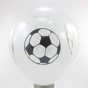 1754266d83 Balão Duplo - Bexiga 2 Em 1 Transparente Com Bola De Futebol. R  35 15
