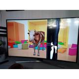 Tv Samsung Smart 55 Un55mu6300 Uhd 4k Curved Pantalla Rota