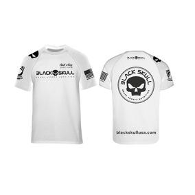 6b152c6683 Camiseta Dry Fit Modelo Novo - Black Skull - Lançamento