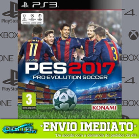 Pro Evolution Soccer 2017 Ps3 Midia Digital Envio Já!