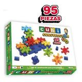 Cubi Constructor 95 Piezas Juego Encastre Nupro Mundo Manias