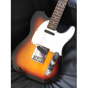 Guitarra Telecaster Fender Squier Sunburst,california Series