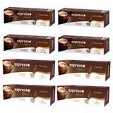 Kit 80 Cápsulas Café Compatíveis Nespresso Chocolate Canela