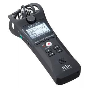 Gravador Digital Zoom H1n Profissional Stereo - Muito Novo
