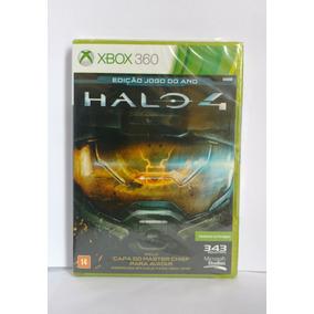 Halo 4 Edição Do Ano Xbox 360 Novo Midia Fisica C/nf