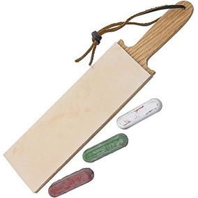 Piel Paddle Strop 2.5inch De Doble Cara De Ancho Y 3compue
