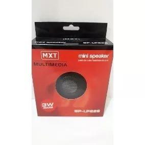 Mini Caixa De Som Speaker Multimedia