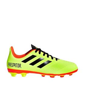 25ba7ce4fec72 Tenis Soccer adidas Predator 18.4amarillo Sintetico Xh1063 A
