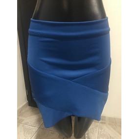 Faldas Asimetricas Stretch Varios Colores Chica Y Mediana