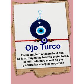 Pulsera De Hilo, Ojo Turco, Para Proteccion.