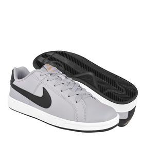 Tenis Casuales Nike Para Hombre Piel Grey Black 749747004 4d9327887b41d