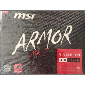 Tarjeta De Vídeo Msi Rx580 Armor 8gb Gddr5 Oc