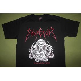 Gusanobass Playera Rock Metal Emperor Wrath Med Y Gde