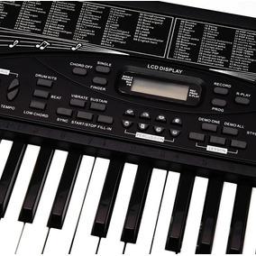 Teclado Musical Profesional Muchas Funciones Tonos Y Mas