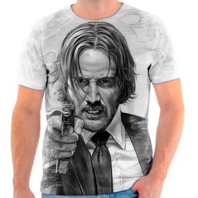 Camisa John Wick - Camisetas e Blusas no Mercado Livre Brasil 89b62ec9e67bd