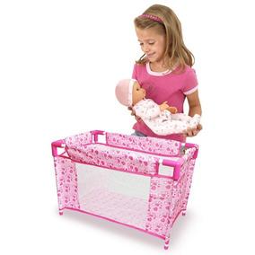 Berço Para Boneca Brinquedo Infantil Criança Educativo Cama