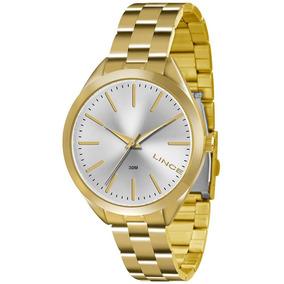 9ce11e48834 Relogio Feminino Medio Dourado - Relógios De Pulso no Mercado Livre ...