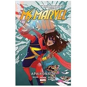 Hq - Ms. Marvel - Apaixonada - Panini Comics