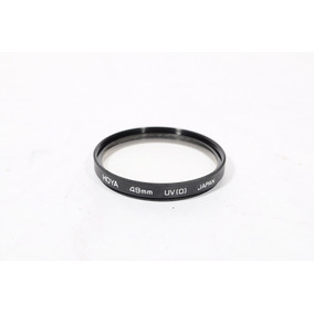 Filtro Hoya Uv 49mm Made In Japan Para Nikon Canon (usado)