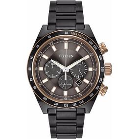 Reloj Citizen Ca4207-53h Eco-drive 42mm Cronógrafo Fechero