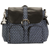 Bolso Maternal Matte Coated Double Duty Fantasia Geo