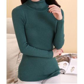 Sweater Beatle Cuello Alto Cashemira Talla M c6aea19451e2