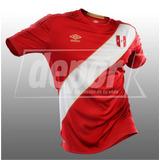 Camiseta Alterna De La Selección Peruana Umbro - Rusia 2018