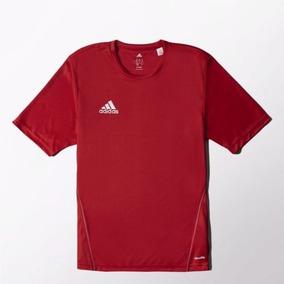 Camisa adidas Treino Core 15 Vermelho b19a7dbc953da