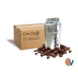 Caja De 12 Bolsas De Café En Grano Para Vending De Café