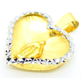 f45a60cf68234 Pingente Nossa Senhora Das Graças Ouro Branco - Joias e Relógios no ...