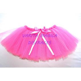 1d0296fed Pollerita Tutu Rosa Con Tul Ideal Disfraz Bailarina Etc - Disfraces ...