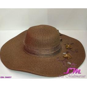 Chapeu Feminino Verão - Chapéus para Feminino Marrom no Mercado ... 6f4841e048b