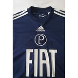 Camisa Palmeiras Goleiro 2011 adidas Oficial Azul M - Rara 53107e9215eff
