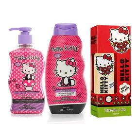 Perfume Hello Kitty Diversión Shampoo Y Gel De Ducha